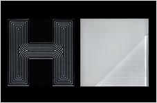 LED導光板 ドコーモルクス/レターパネル