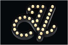 LEDサイン:LEDトッティ ドット 砲弾型 電球タイプ チャンネル文字 看板