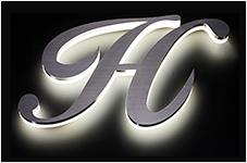 ゼロチャンネル フレームレスLEDサイン