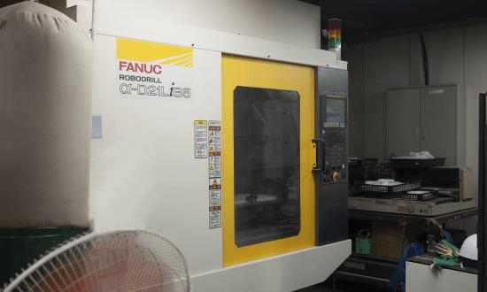 高効率小型多軸切削加工機