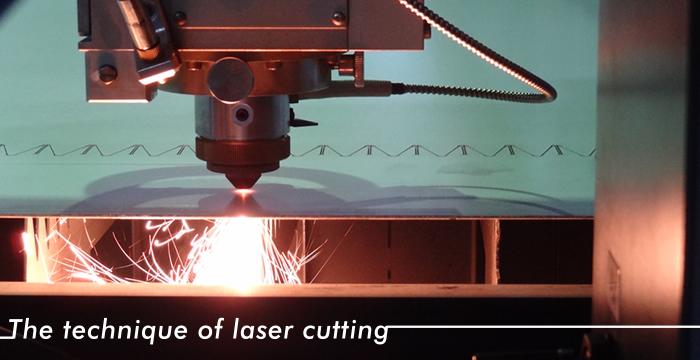 レーザーカット技術 イメージ