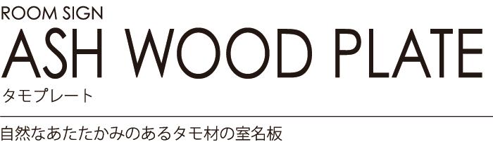 ルームサイン:タモプレート 自然なあたたかみのあるタモ材の室名板 学校施設におすすめです