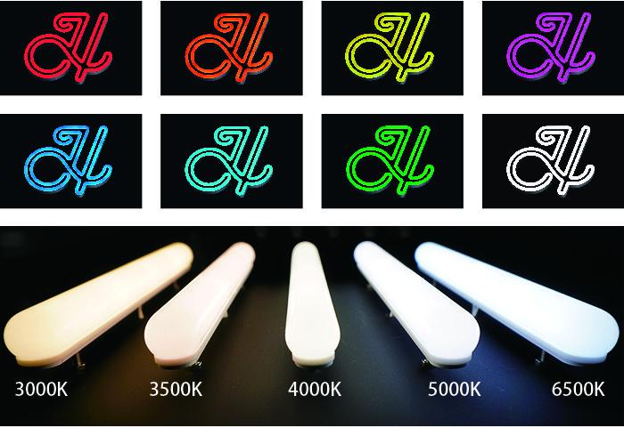 LEDネオ発光色参考
