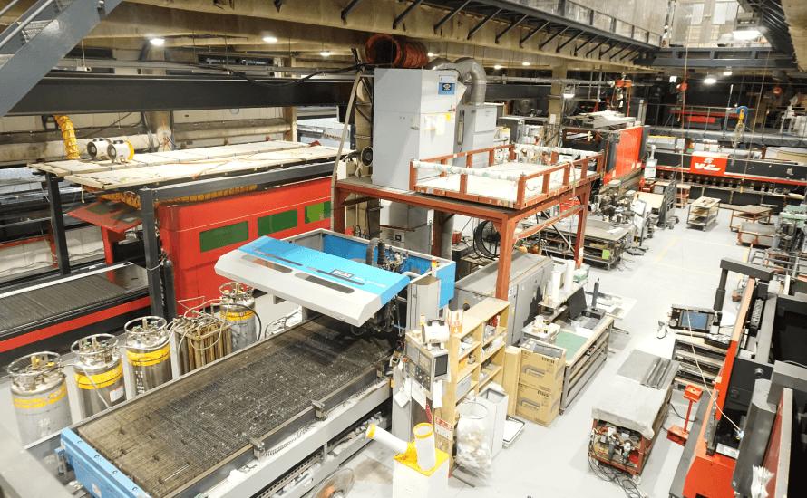 工場の写真